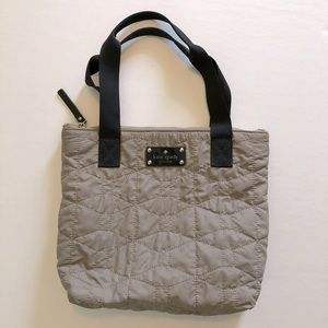 Kate Spade Quilted Embroidered Bon Shopper Bag